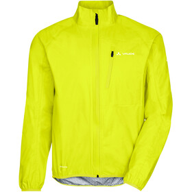 VAUDE Drop III Jas Heren, bright green